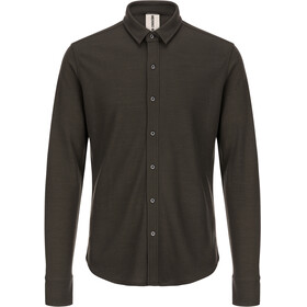 super.natural Comfort Piquet Shirt Men killer khaki